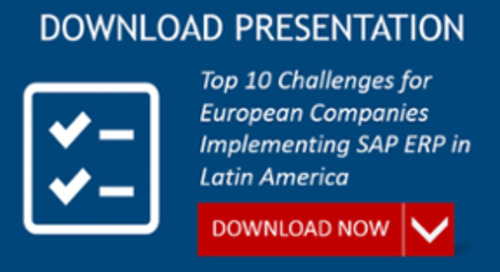 Top Challenges for European Companies Implementing SAP ERP in Latin America