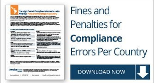 Fines and Penalties for Compliance Errors in LATAM