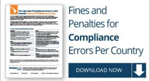 The High Cost of Compliance Errors in Latin America: Corporate Fines and Penalties by Country