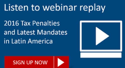 [REPLAY] 2016 Tax Penalties and Mandates LATAM