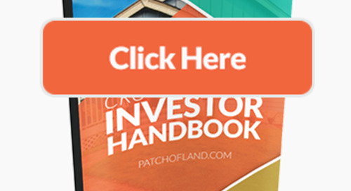 """Crowdfunding Investor Handbook – A """"Travel Guide"""" from Patch of Land"""