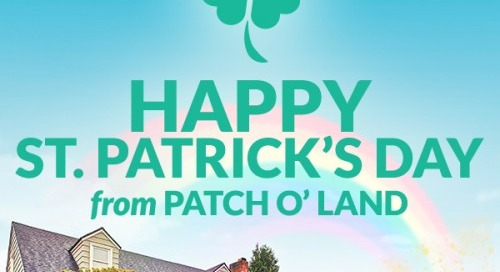 Happy St. Patrick's Day from Patch o' Land
