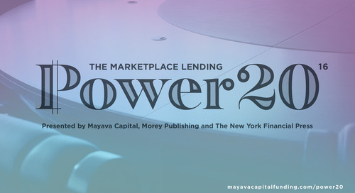 The Marketplace Lending Power 20