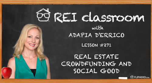 Real Estate Crowdfunding and Social Good