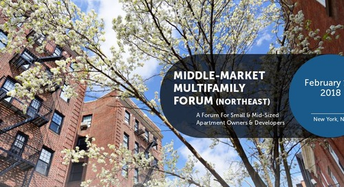 Patch of Land to Attend IMN's Middle-Market Multifamily Forum (Northeast)