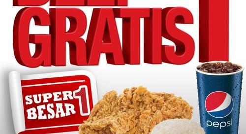 KFC Jagonya Ayam!