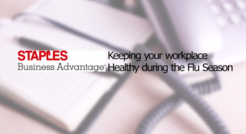 Keeping the Workplace Healthy During Flu Season