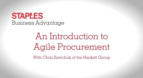An Introduction to Agile Procurement