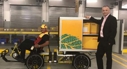 """DHL running """"cubicycle"""" pilot in UAE"""