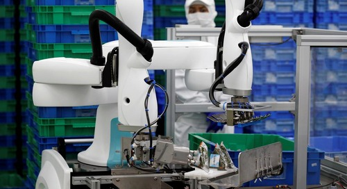 Japanese companies see big things in small-scale industrial robots