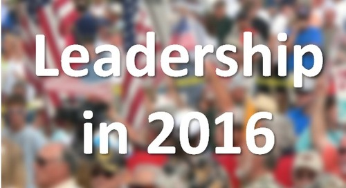 Gut Check: How Will You Remember Your Leadership in 2016?