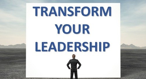 GUT CHECK: Are You Ready To Transform Your Leadership?