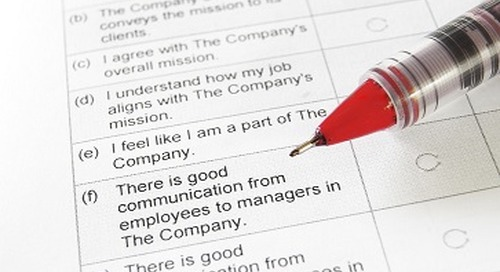 Are You Getting the Most Out of Your Employee Engagement Survey Results?