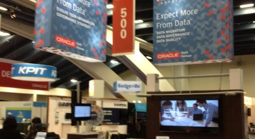 Event Recap: Oracle OpenWorld 2013 Exhibitor and Gold Partner