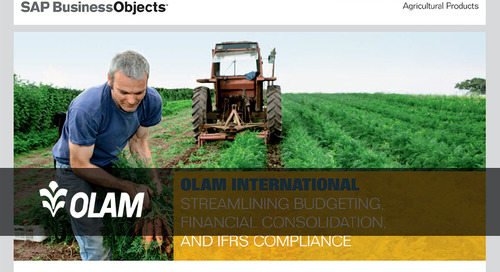 [Customer Story] Olam International