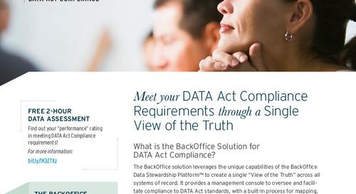 DATA Act Compliance