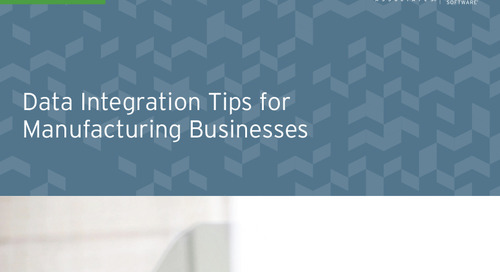 Data Integration Tips for Manufacturing Businesses [HiT Software]
