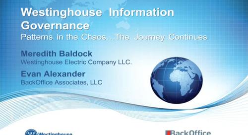 Hear How Westinghouse Tackled the MDM Challenge [Webinar]