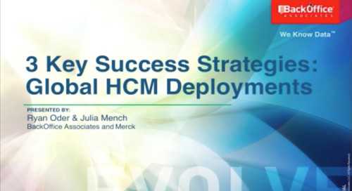 3 Key Success Strategies for Global HCM Data Migration [Webinar]