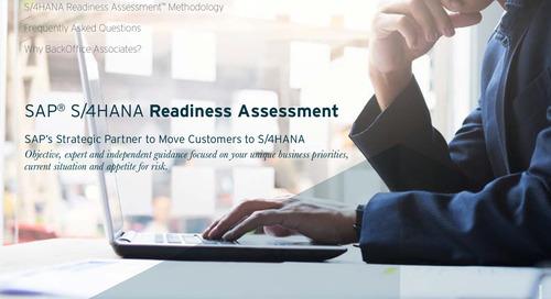 SAP® S/4HANA Readiness Assessment