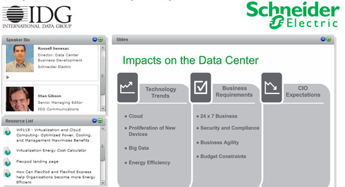 Webinar - Building Tomorrow's Data Center with Converged Technologies