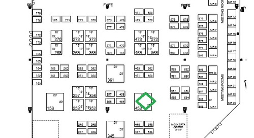 Gartner Data Center Conference Floor Plan Layout