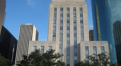 Performance contract to save the city of Houston over $37 million