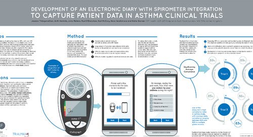 Poster: Spirometer and eDiary Integration for Asthma Trials
