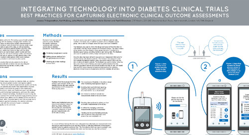 Poster: eCOA Best Practices in Diabetes Clinical Trials