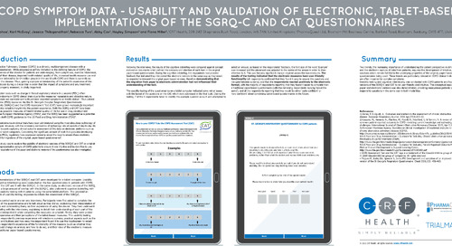 Poster: COPD Questionnaire Usability and Validation on Tablet