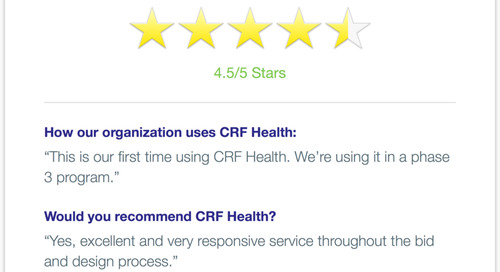 CRF Health Recommended for Responsive Service