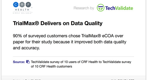 TrialMax® Delivers on Data Quality