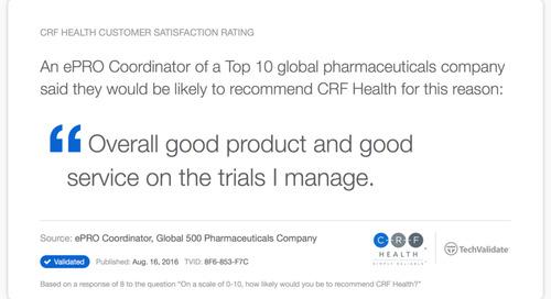 Testimonial: Good Product, Good Service