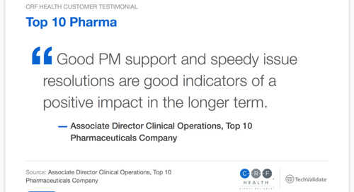 Testimonial: Good PM Support and Speedy Issue Resolution