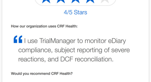 Testimonial: TrialMax® is Easy to Use