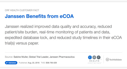 Janssen Realizes Major Trial Benefits with eCOA