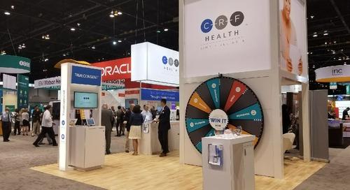 DIA 2017 Recap: Wheel of Prizes at CRF Health Booth 2006