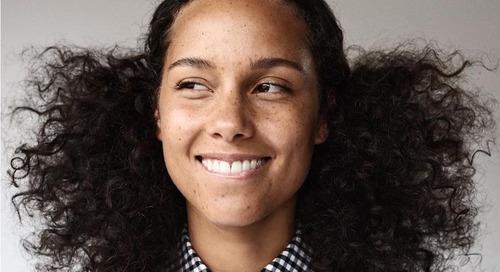 Mentimun, Rahasia Wajah Tanpa Makeup Alicia Keys