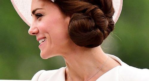 Cantiknya Tata Rambut Kate Middleton Sepanjang Tahun Ini