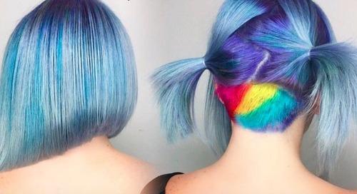Lollipop Hair, Untuk yang Ingin Tampil Berani dan Beda di 2017