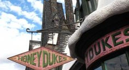 Mencicip Permen dan Cokelat dalam Buku Harry Potter