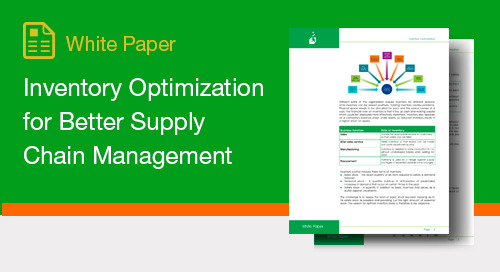 Inventory Optimization for Better Supply Chain Management