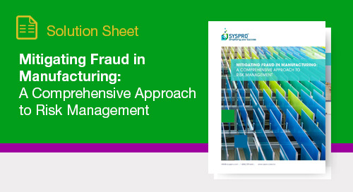 How to fight fraud in manufacturing environments