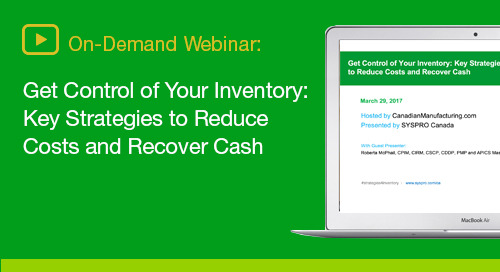 Discover strategies to reduce expensive inventory costs and improve cash flow