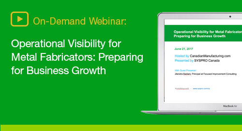 How metal fabrication leaders can optimize visibility across their organizations for growth