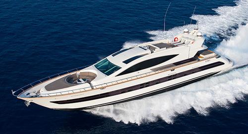 KK Superyachts lists Cerri 102 motor yacht Toby for sale