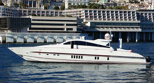 Motor yacht Touchstone (ex. Walindi) is sold