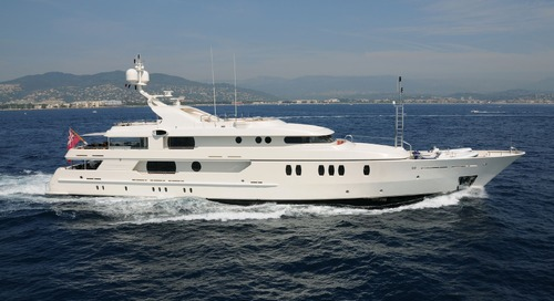 Motor yacht Seahorse is sold