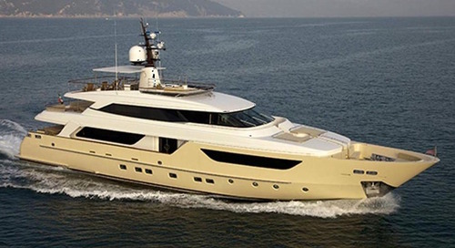 Sanlorenzo SD 122 motor yacht Bikini Queen is sold