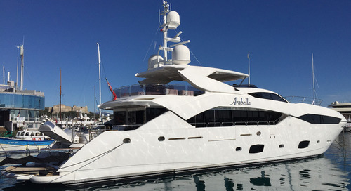 Sunseeker Predator motor yacht Arabella sold by KK Superyachts